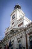 Bank, Image of the city of Madrid, its characteristic architectu Stock Photo