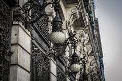 Bank, Image of the city of Madrid, its characteristic architectu Stock Photography
