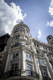 Bank, Image of the city of Madrid, its characteristic architectu Stock Image