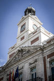 Bank, Image of the city of Madrid, its characteristic architectu Royalty Free Stock Image