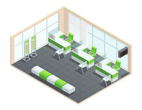 Bank Interior Concept Royalty Free Stock Photo