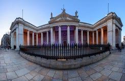 Bank of Ireland Dublin Fotografering för Bildbyråer