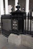 Bank of Ireland en Dublín, 2015 Foto de archivo