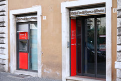 Bank in Italy Stock Images
