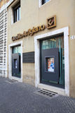 Bank in Italy Stock Photo