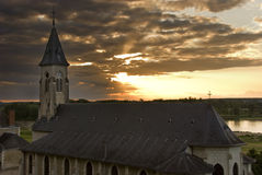 bank kościoła obraz royalty free