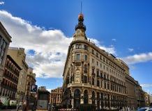 Bank in Madrid Stock Fotografie