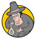 Bank man Royalty Free Stock Images