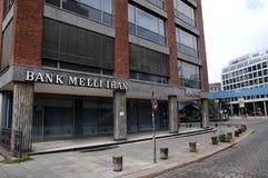 Bank Melli Iran in Hamburg Royalty Free Stock Photography