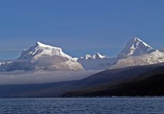 bank mgły góry zdjęcie royalty free