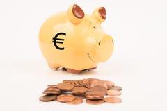 bank monety Świnka Zdjęcie Royalty Free