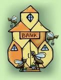 The Bank - Moneycomb Stock Image