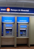 Bank of montreal. Atm machine Royalty Free Stock Images
