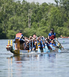 Bank of Montreal BMO Dragon Boat Stock Image