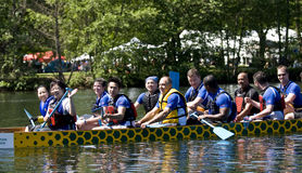 Bank of Montreal BMO Dragon Boat Royalty Free Stock Images