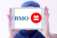 Bank of Montreal , BMO, logo Stock Images