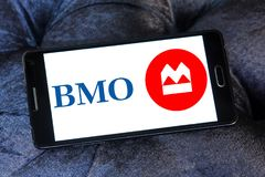 Bank of Montreal , BMO, logo Royalty Free Stock Photos