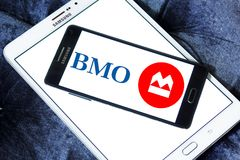 Bank of Montreal , BMO, logo Stock Photo