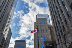 Bank of Montreal BMO main building in Toronto, Ontario, Canada Stock Images