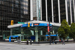 Bank of Montreal, Vancouver, Canada Stock Images