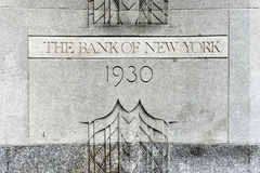 The Bank of New York Building Royalty Free Stock Images