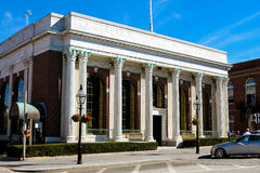 Bank Newport in Washington Square, Newport, RI Stockfotografie