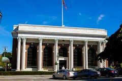 Bank Newport in Washington Square, Newport, RI Lizenzfreie Stockbilder
