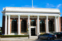 Bank Newport in Washington Square, Newport, RI Lizenzfreies Stockfoto