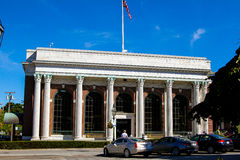 Bank Newport in Washington Square, Newport, RI. Royalty Free Stock Images