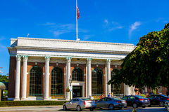 Bank Newport in Washington Square, Newport, RI. Royalty Free Stock Photo