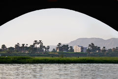 Bank of the Nile Stock Photo