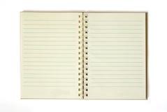 Bank notebook