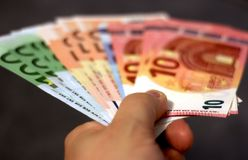Bank, Notes, Banknotes Stock Photo