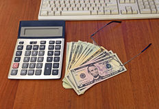Bank notes Royalty Free Stock Photo