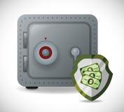 Bank- och pengarbesparingar Fotografering för Bildbyråer