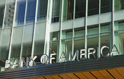 Bank Of America Building Stock Photos
