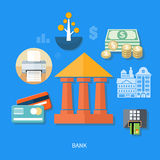 Bank office symbol Royalty Free Stock Photography