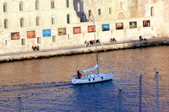 Bank of the old Port in Marseille Stock Photos