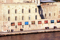 Bank of the old Port in Marseille Stock Image