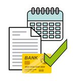 Bank online design. Illustration eps10 graphic Stock Photo