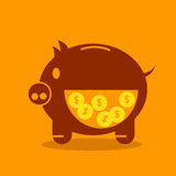 Bank Pig Stock Image