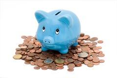 bank piggy Royaltyfria Bilder
