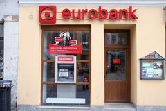 Bank in Poland Stock Photography