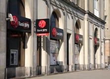 Bank in Poland royalty free stock photos