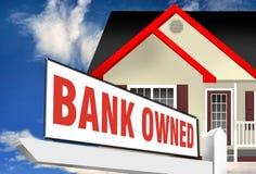 Bank posiadać własność ilustracja wektor