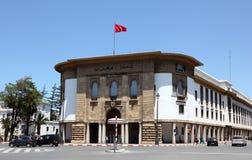 Bank in Rabat, Murocco Stock Images