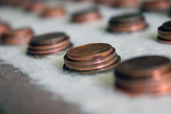 bank repet för anmärkningen för pengar för fokus hundra för euroeuros fem Royaltyfri Fotografi