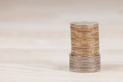 bank repet för anmärkningen för pengar för fokus hundra för euroeuros fem Royaltyfri Bild