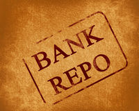 Bank repo Royalty Free Stock Image