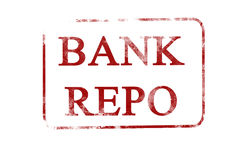 Bank repo Royalty Free Stock Images